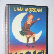 Cine: LA NOCHE DE LINA (LINA MORGAN) *** VHS CINE ESPAÑOL *** DIVISA EDICIONES (1996). Lote 128413599