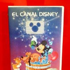 Cine: EL CANAL DISNEY - VOL. 11. DESCATALOGADÍSIMA - WALT DISNEY. Lote 128833903