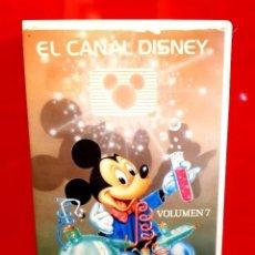Cine: EL CANAL DISNEY VOLUMEN 7 (1986) - EL ZORRO W. PU CLASICOS DISNEY MUY ESCASA. Lote 129012759