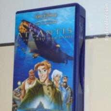 Cine: LOS CLASICOS WALT DISNEY ATLANTIS EL IMPERIO PERDIDO - VHS -. Lote 129024439