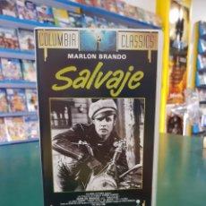 Cine: SALVAJE VHS. Lote 129453546