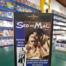Cine: SED DE MAL VHS. Lote 129457895