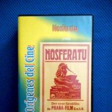 Cine: NOSFERATU (VHS). Lote 129510071