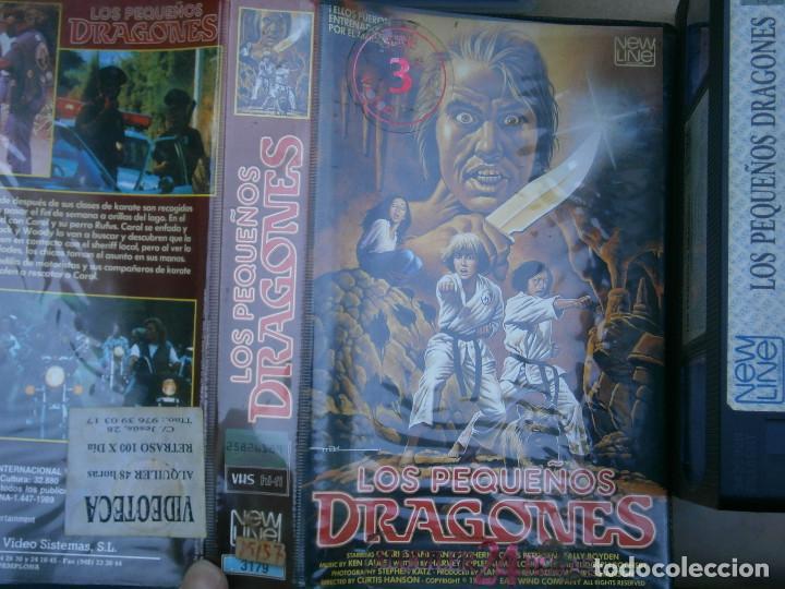 ¡¡LOS PEQUEÑOS DRAGONES¡¡PRIMERA EDICCION CAJA GRANDE¡¡¡UNICA EN TC¡¡¡ (Cine - Películas - VHS)