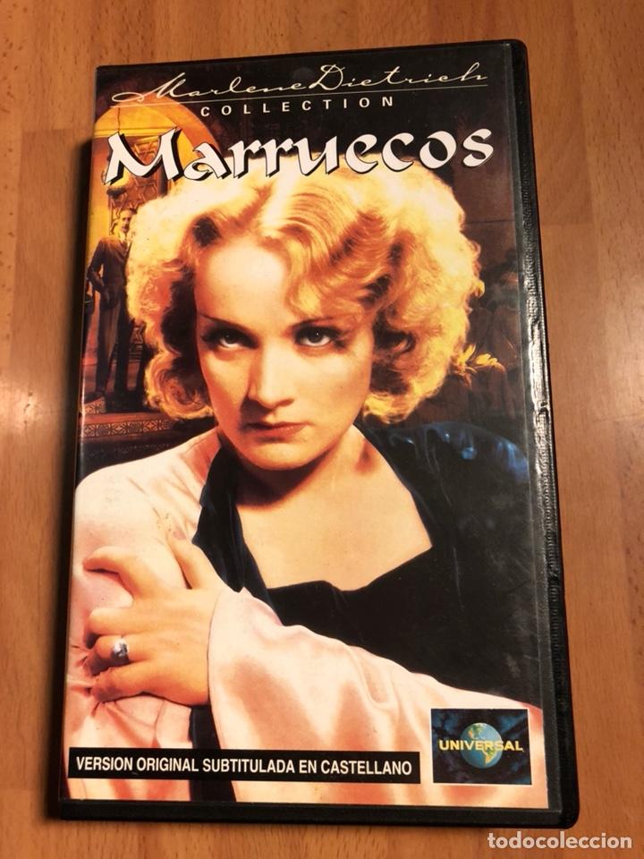 PELÍCULA VHS MARLENE DIETRICH MARRUECOS (Cine - Películas - VHS)