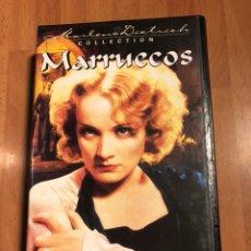 Cine: PELÍCULA VHS MARLENE DIETRICH MARRUECOS. Lote 129666035