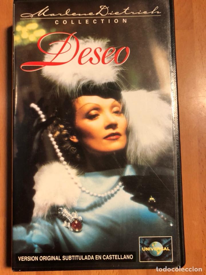 PELÍCULA VHS MARLENE DIETRICH DESEO (Cine - Películas - VHS)