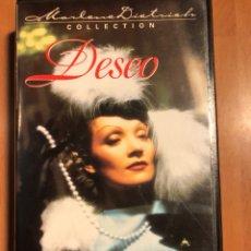 Cine: PELÍCULA VHS MARLENE DIETRICH DESEO. Lote 129666086