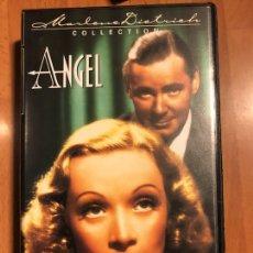 Cine: PELÍCULA VHS MARLENE DIETRICH ÁNGEL. Lote 129666122