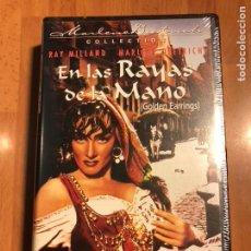 Cine: PELÍCULA VHS MARLENE DIETRICH.EN LAS RAYAS DE LA MANO.NUEVA PRECINTADA. Lote 129666178