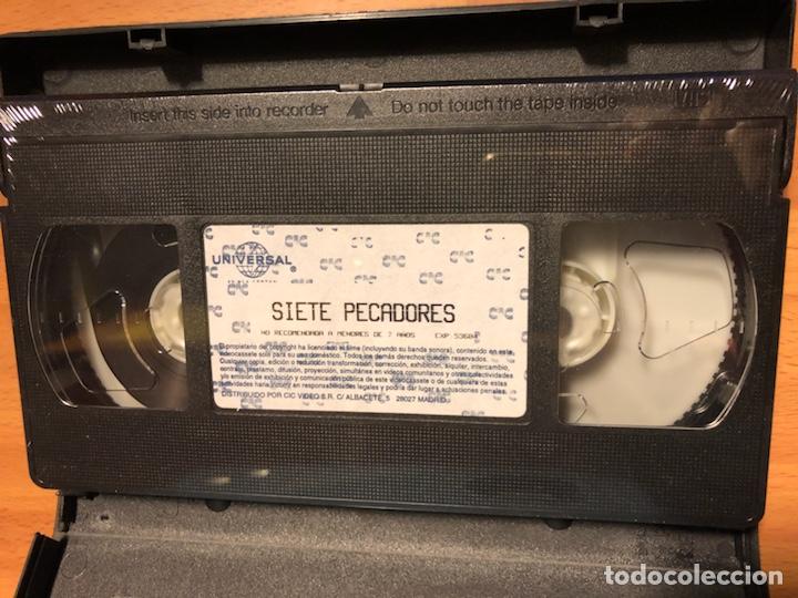 Cine: Película vhs Marlene Dietrich siete pecadores.nueva precintada - Foto 3 - 129666243