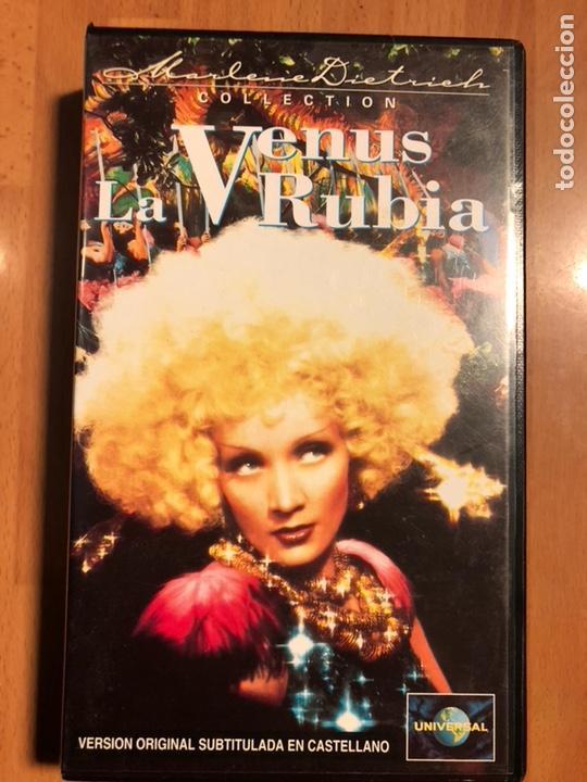 PELÍCULA VHS MARLENE DIETRICH LA VENUS RUBIA (Cine - Películas - VHS)