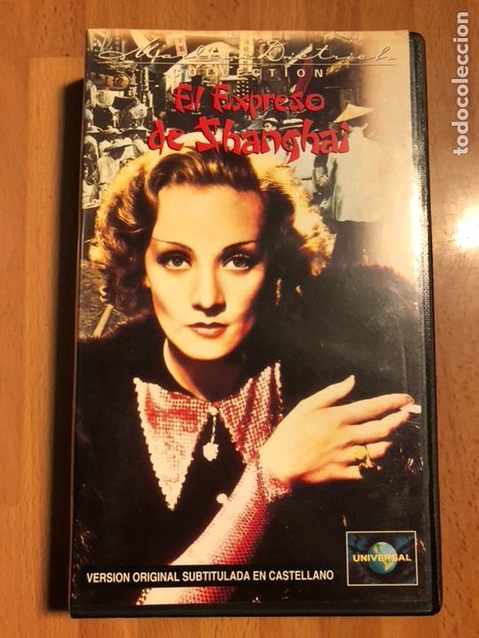 PELÍCULA VHS MARLENE DIETRICH EL EXPRESO DE SHANGHAI (Cine - Películas - VHS)