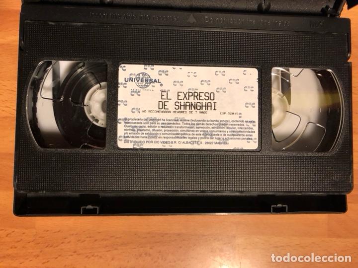 Cine: Película vhs Marlene Dietrich el expreso de shanghai - Foto 3 - 129666387