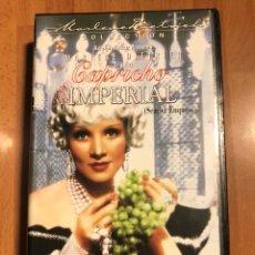 Cine: PELÍCULA VHS MARLENE DIETRICH CAPRICHO IMPERIAL. Lote 129666488