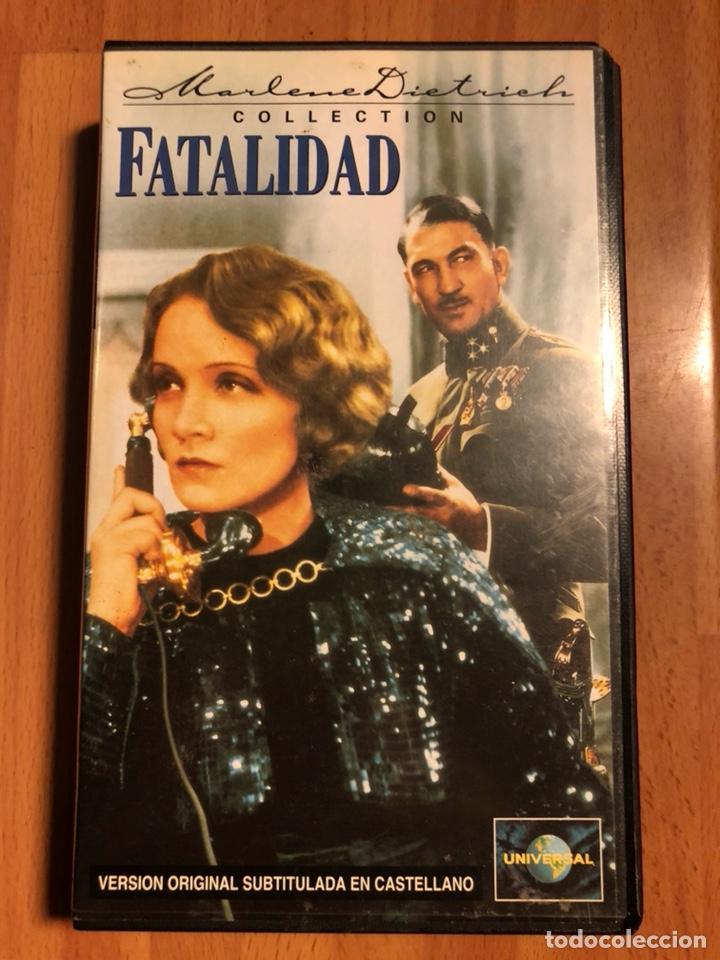 PELÍCULA VHS MARLENE DIETRICH FATALIDAD (Cine - Películas - VHS)