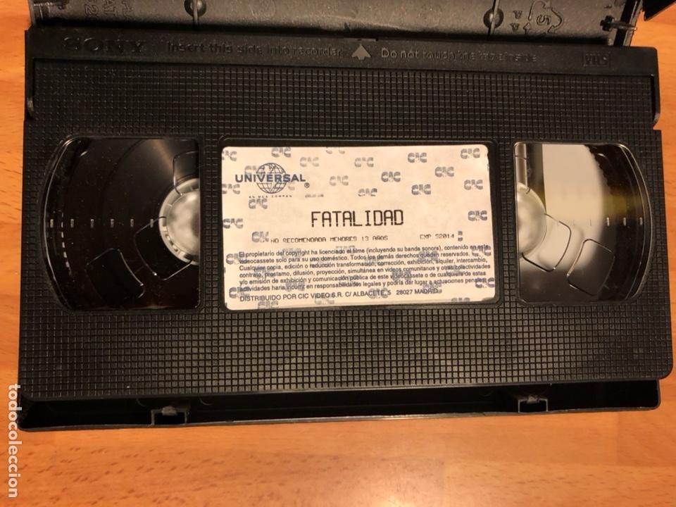Cine: Película vhs Marlene Dietrich fatalidad - Foto 3 - 129666674