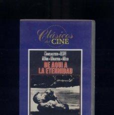 Cine: CLÁSICOS DEL CINE LOTE DE 8 CINTAS, VER LISTA Y FOTOS. Lote 129967395