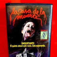 Cine: LA CASA DE LA MUERTE (1977) - ALIEN ZONE ... RAREZA FILMS Z7 VIDEO. Lote 130289510
