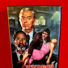 Cine: TERROR EN EL MUSEO DE CERA (1973) - TERROR IN THE WAX MUSEUM. Lote 130594858
