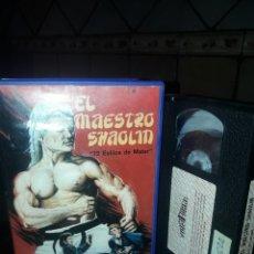 Cine: EL MAESTRO SHAOLIN VHS. Lote 130674941