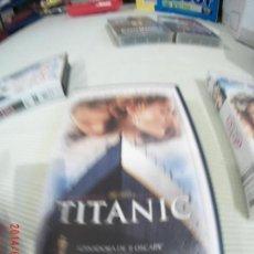Cine: PELÍCULA VHS TITANIC. Lote 130685564