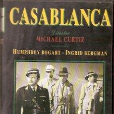 Cine: VHS DE LA PELICULA CASABLANCA. Lote 131030668