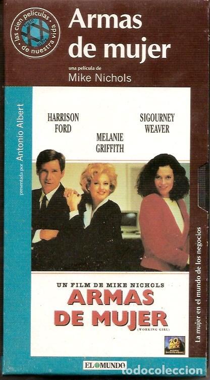 VHS DE LA PELICULA ARMAS DE MUJER (Cine - Películas - VHS)
