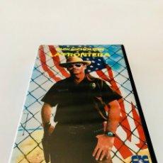 Cine: LA FRONTERA (1982) VHS - TONY RICHARDSON - JACK NICHOLSON - HARVEY KEITEL - 1ª EDICIÓN. Lote 131032337