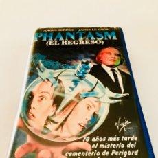 Cine: PHANTASMA II EL REGRESO (1988) VHS - DON COSCARELLI - ANGUS SCRIMM - 1ª EDICIÓN. Lote 131032821