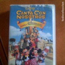 Cinéma: VIDEO CANTA CON NOSOTROS DE DISNEY. Lote 131059288