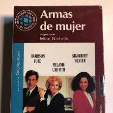 Cine: MIKE NICHOLS - ARMAS DE MUJER - VHS ORIGINAL COLECCIÓN EL MUNDO - PRECINTADA. Lote 131162304