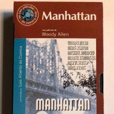 Cine: WOODY ALLEN - MANHATTAN - VHS ORIGINAL COLECCIÓN EL MUNDO. Lote 131163560
