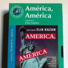 Cine: ELIA KAZAN - AMÉRICA, AMÉRICA - VHS ORIGINAL COLECCIÓN EL MUNDO. Lote 131164604