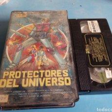 Cine: VHS-PROTECTORES DEL UNIVERSO(ANIMADOS)AÑOS 80. Lote 131226648
