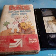 Cine: VHS- POPEYE EN LOS MARES DEL SUR(ANIMACION) AÑOS 80. Lote 131226839