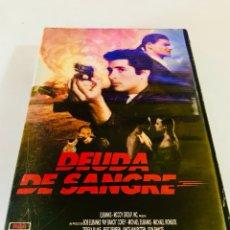 Cine: DEUDA DE SANGRE VHS - MICHAEL IRONSIDE. Lote 98606403