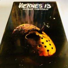 Cine: VIERNES 13 PARTE 4 ÚLTIMO CAPÍTULO (1984) VHS - SLASHER - JOSEPH ZITO - PARTE IV. Lote 131399695