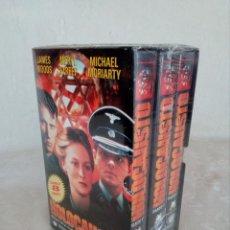 Cine: TRILOGÍA HOLOCAUSTO ( 3 CINTA VIDEO VHS ). Lote 146336904