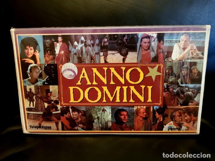 ANNO DOMINI (1985) - SUPER JOYA EDICIÓN DE LUJO VIDEOESPAÑA (X3 CINTAS VHS) (Cine - Películas - VHS)