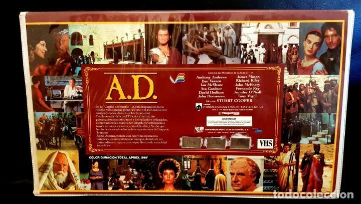 Cine: ANNO DOMINI (1985) - SUPER JOYA EDICIÓN DE LUJO VIDEOESPAÑA (x3 CINTAS VHS) - Foto 2 - 131610962