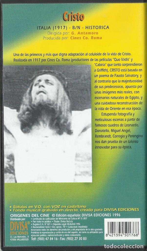 Cine: Cristo 1917 (Cine Mudo) VHS - Foto 2 - 131683970