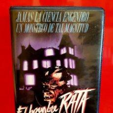 Cine: EL HOMBRE RATA (1988) - GIULIANO CARNIMEO, DAVID WARBECK - TERROR RAREZA. Lote 131862798