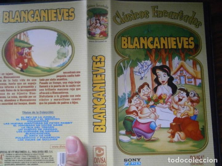 ¡¡BLANCANIEVES¡¡VHS EDICCION RRAREZA¡¡ (Cine - Películas - VHS)