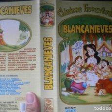 Cine: ¡¡BLANCANIEVES¡¡VHS EDICCION RRAREZA¡¡. Lote 131869562
