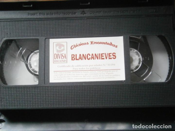 Cine: ¡¡BLANCANIEVES¡¡VHS EDICCION RRAREZA¡¡ - Foto 2 - 131869562