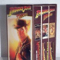 Cine: INDIANA JONES - TRILOGIA PACK VHS. Lote 131926634