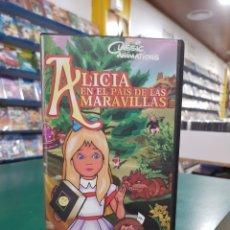 Cine: ALICIA EN EL PAÍS DE LAS MARAVILLAS VHS. Lote 131934042