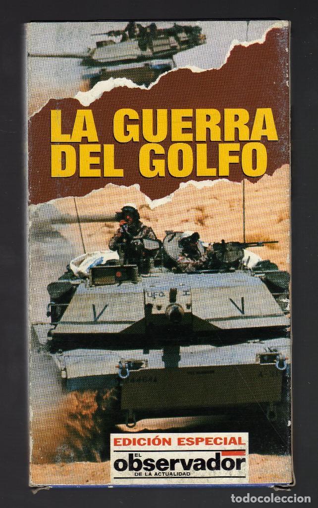 CINTA VHS: LA GUERRA DEL GOLFO · EDICIÓN ESPECIAL EL OBSERVADOR DE LA ACTUALIDAD, 1991 (Cine - Películas - VHS)