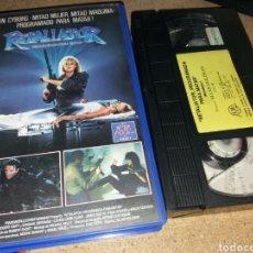 Cine: RETALIATOR- PROGRAMADA PARA MATAR- VHS- DIR: ALLAN HOLZMAN- TERMINATOR WOMAN. Lote 132223577
